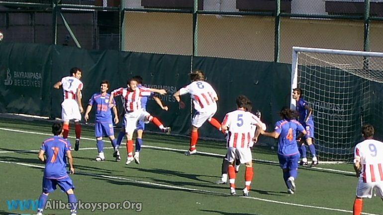 Yıldırım Bosnaspor 1-1 Alibeyköyspor