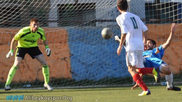 Alibeyköyspor 1-0 Paşabahçespor