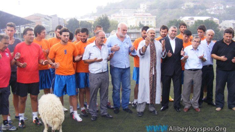 2012-2013 sezonunu dualarla açtık