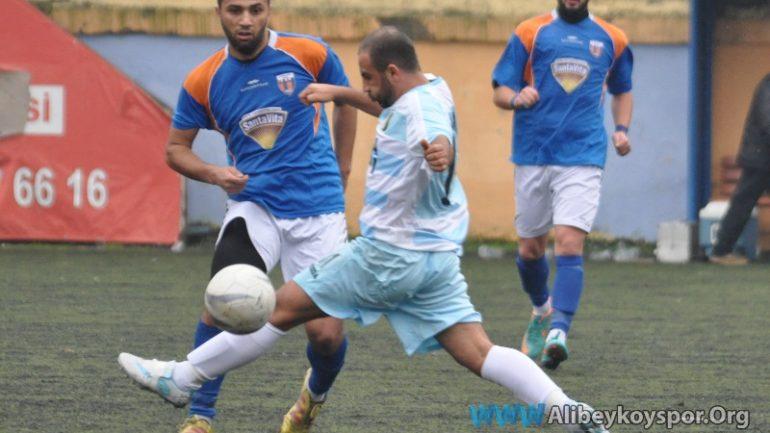 Alibeyköyspor 0-1 Zara Ekinlispor
