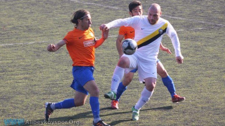 Alibeyköyspor 1-1 Avcılar Belediyespor