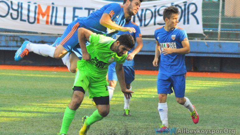 Çayırbaşıspor 0-1 Alibeyköyspor (Yarıda Kaldı)