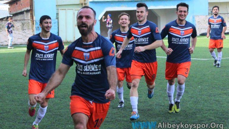 Alibeyköyspor 2-2 Kuştepespor
