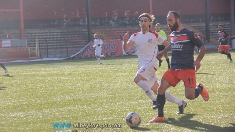 Alibeyköyspor 1-1 Bayrampaşa Tunaspor