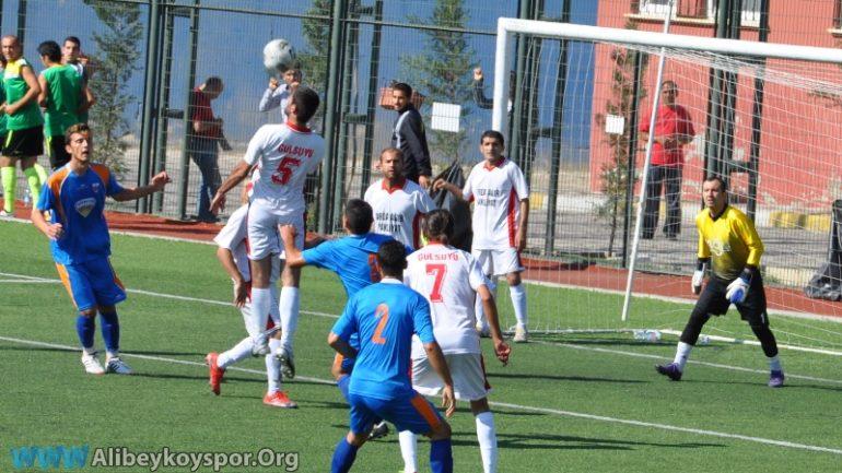 Gülsuyu 0-2 Alibeyköyspor