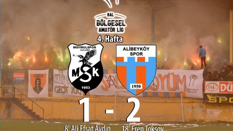 Moymulspor 1-2 Alibeyköyspor