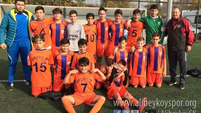 Alibeyköyspor 3-1 Haznedar İdman Ocağı
