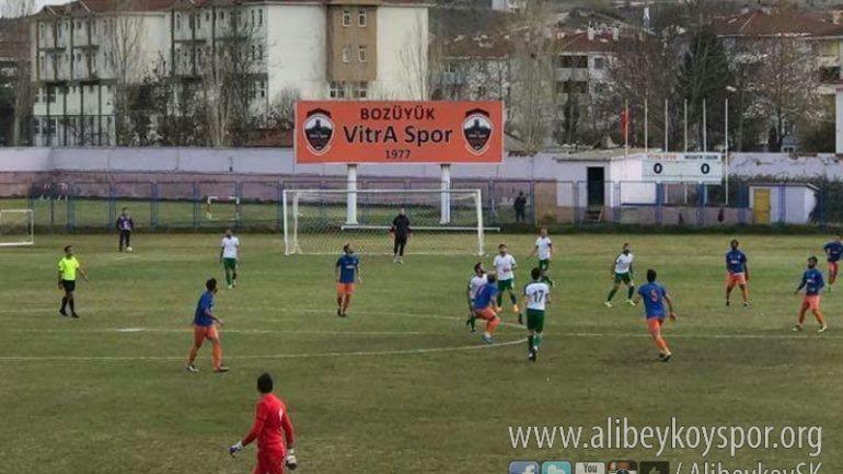 Bozüyük Vitraspor 1-0 Alibeyköyspor