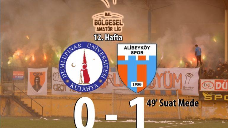 Dumlupınar Üniversitesispor 0-1 Alibeyköyspor
