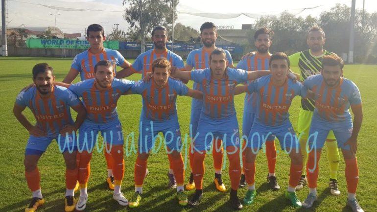 Alibeyköyspor 1-0 Şile Yıldızspor