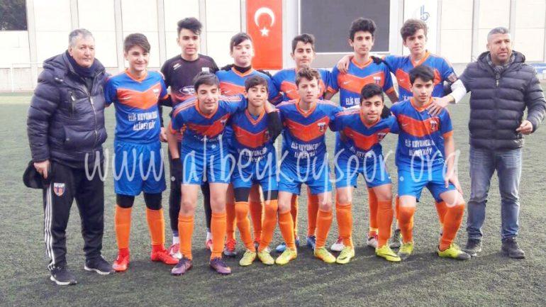 Ateştuğlaspor 0-3 Alibeyköyspor