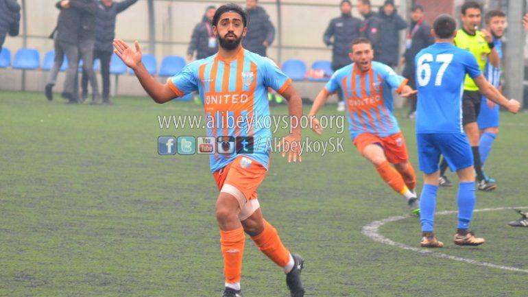 Alibeyköyspor 1-0 Kaynaşlı Belediyespor