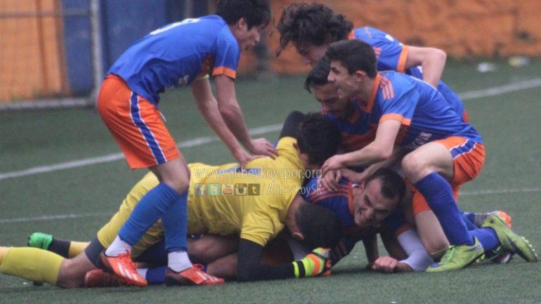 Alibeyköyspor 1-0 Yeşilılgazspor