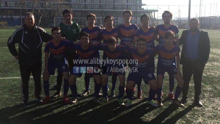 Zeytinburnu Yeşiltepespor 1-6 Alibeyköyspor