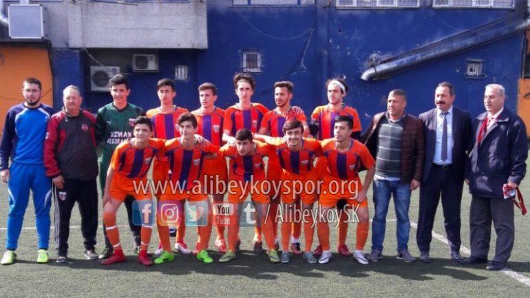 Alibeyköyspor 4-0 İstanbul Artvinspor
