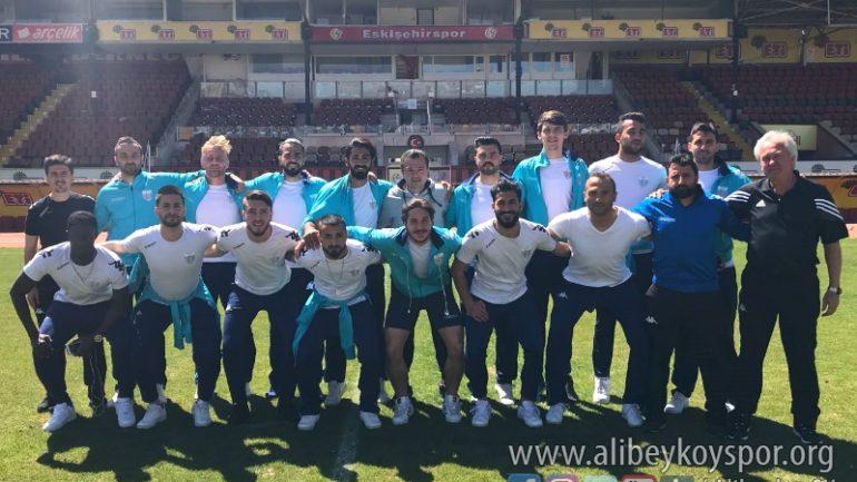 Eskişehir Kurtuluşspor 0-2 Alibeyköyspor