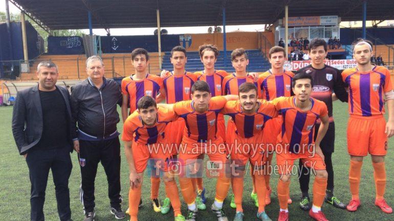 Alibeyköyspor 2-0 Yeşilılgazspor