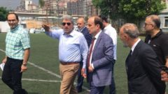 Sayın Mehmet Baykan Kulübümüzü ziyaret etti