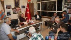 Remzi Aydın Kulübümüzü Ziyaret Etti