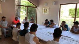 Başkanımız Muammer Saka kamp ziyaretinde