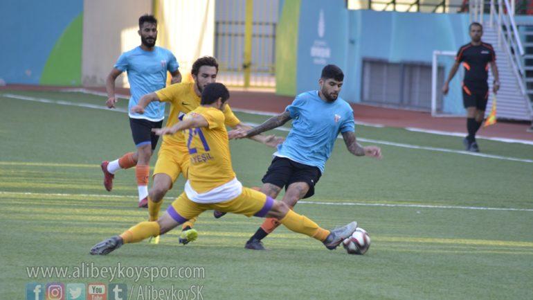 Eyüpspor 1-2 Alibeyköyspor [Maç Fotoğrafları]