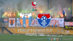 2. haftada rakibimiz Elaziz Belediyespor