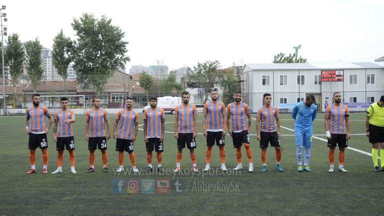 Alibeyköyspor 0-0 Elaziz Belediyespor [Maç Fotoğrafları]