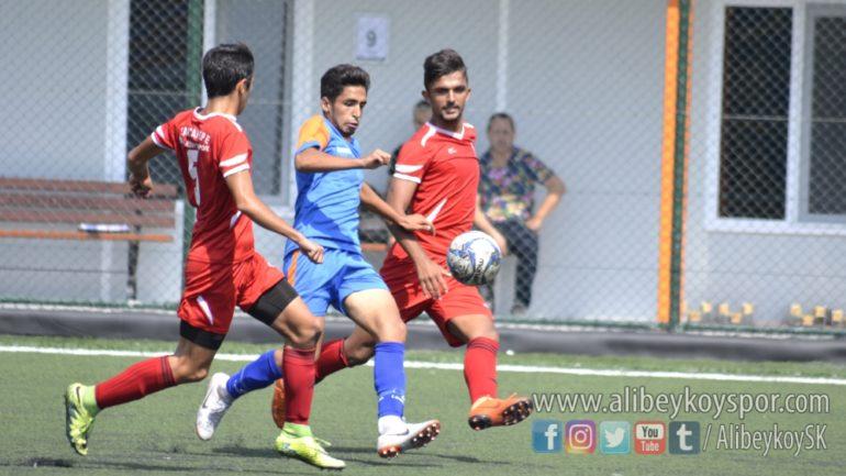 Gelişim Liglerinde 1. haftada Sancaktepe Belediyespor'la karşılaştık
