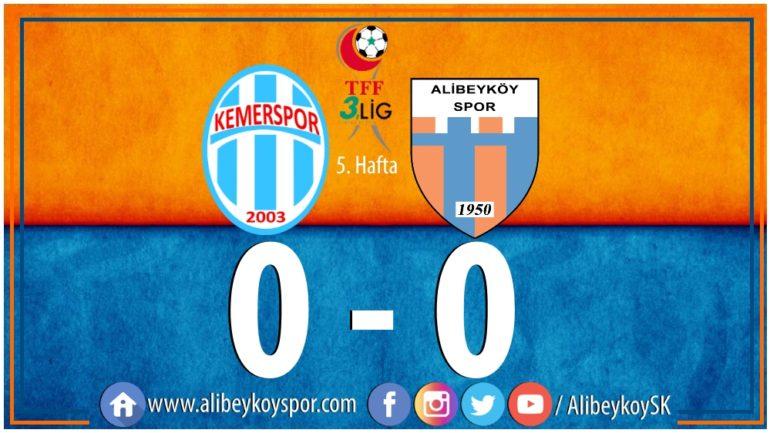 Kemerspor 2003 0-0 Alibeyköyspor