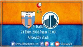9. haftada rakibimiz Altındağ Belediyespor