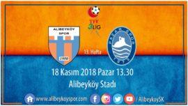 13. haftada rakibimiz Pazarspor