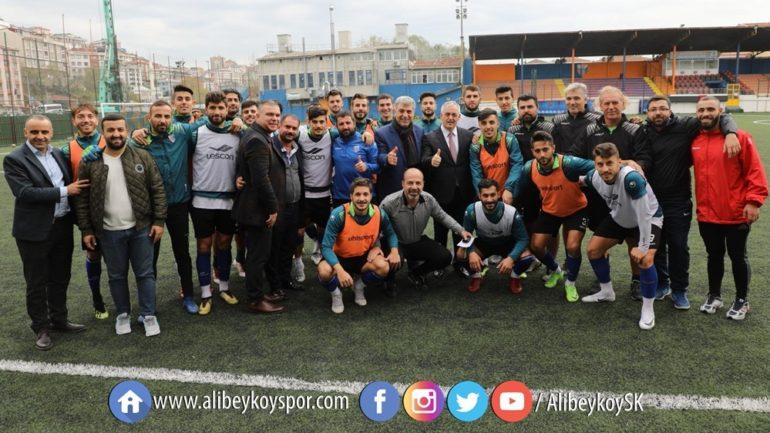 Eyüpsultan Belediye Başkanı Remzi Aydın Kulübümüzü ziyaret etti