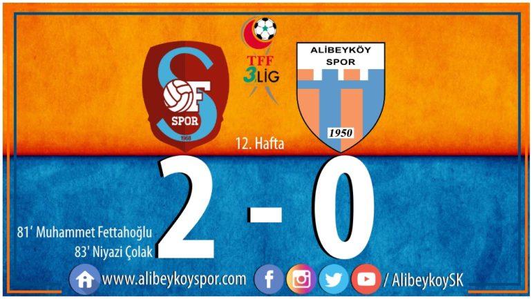 Ofspor 2-0 Alibeyköyspor