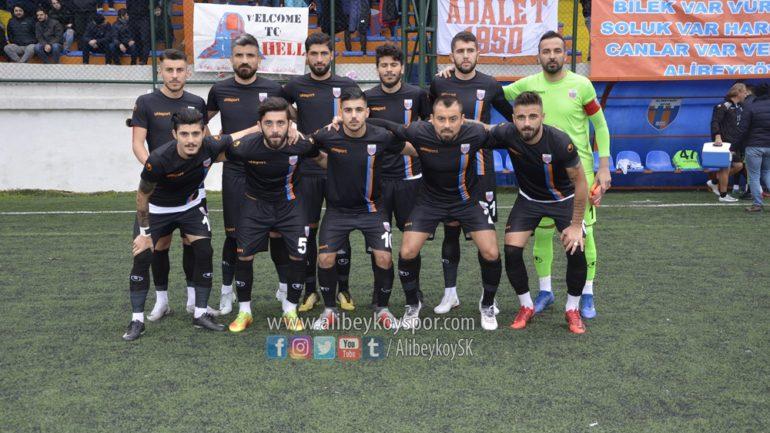 Alibeyköyspor 2-1 Hüseyin Koçer İnşaat Çatalcaspor [Maç Fotoğrafları]