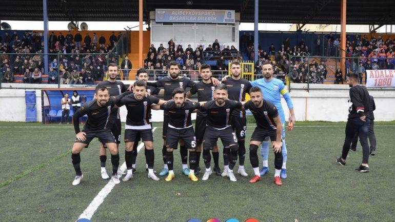 Alibeyköyspor 2-1 Adıyaman 1954 Spor [Maç Fotoğrafları]