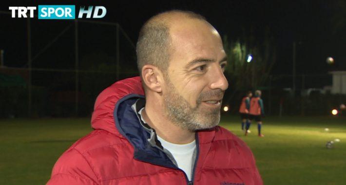 Teknik Direktörümüz Kolgu kamp dönemini TRT Spor'a değerlendirdi