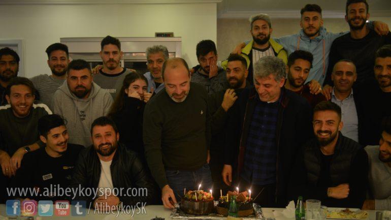 Teknik Direktörümüz Kolgu'nun doğum gününü kutladık