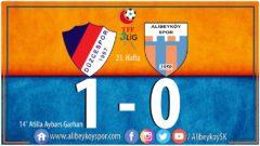Düzcespor 1-0 Alibeyköyspor
