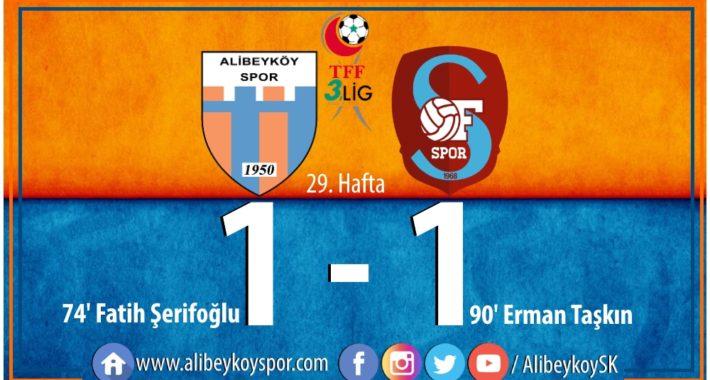 Alibeyköyspor 1-1 Ofspor