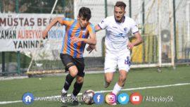 Alibeyköyspor 0-1 Yeni Orduspor