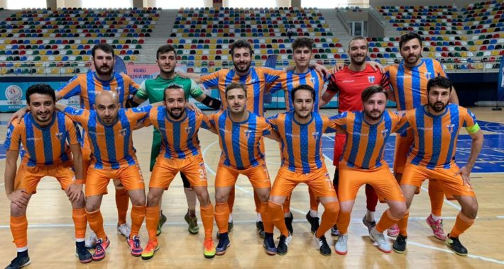 Alibeyköysporumuz Futsal Ligi'ni ikinci olarak tamamladı