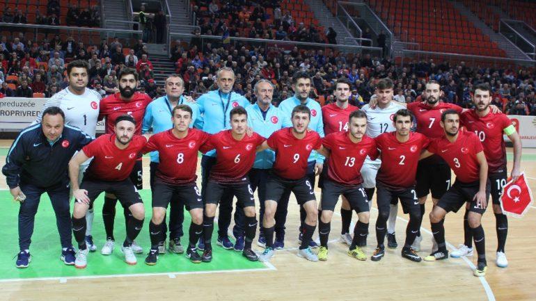 Futsal Milli Takımı'na 2 futbolcu gönderdik
