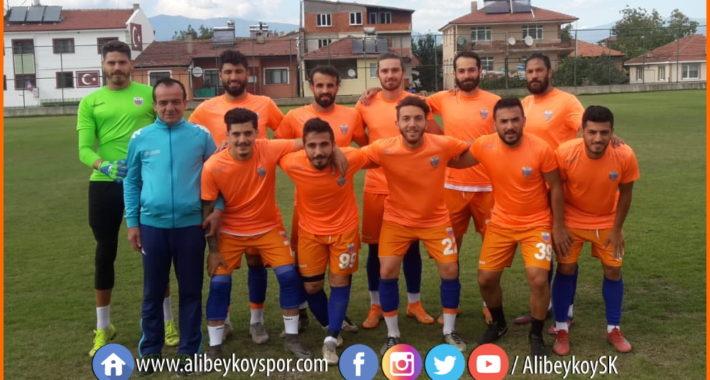 Alibeyköyspor 1-1 Keçiören Belediyesi Bağlumspor