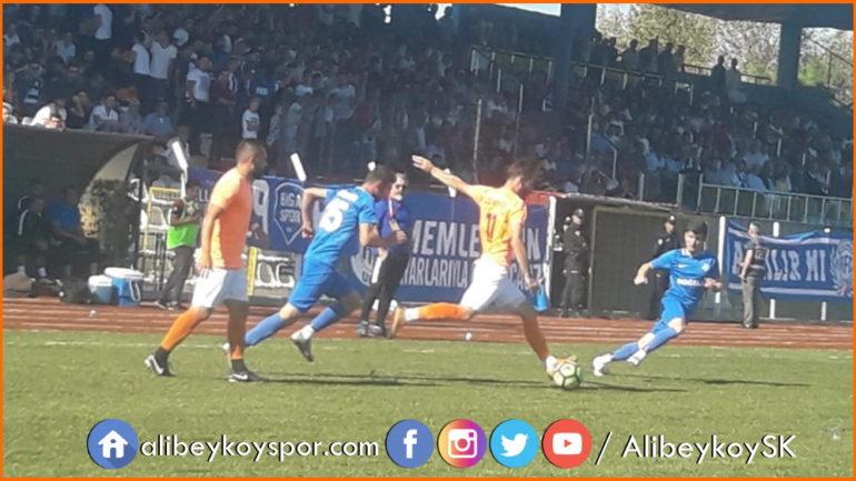 Bigaspor 3-1 Alibeyköyspor