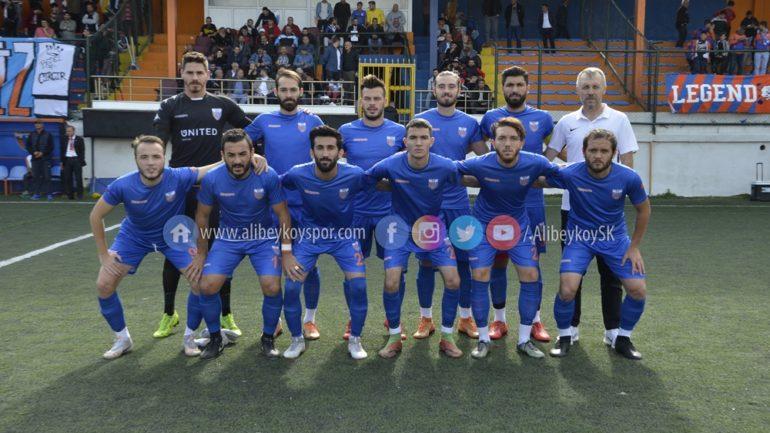 Alibeyköyspor 1-0 Çerkezköy 1911 Doğanspor [Maç Fotoğrafları]