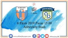3. haftada rakibimiz Arnavutköy Belediyespor