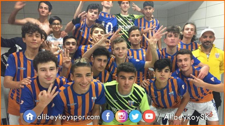 Cevatpaşaspor 0-3 Alibeyköyspor