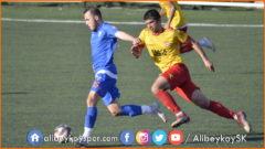 Alibeyköyspor 1-2 Edirnespor