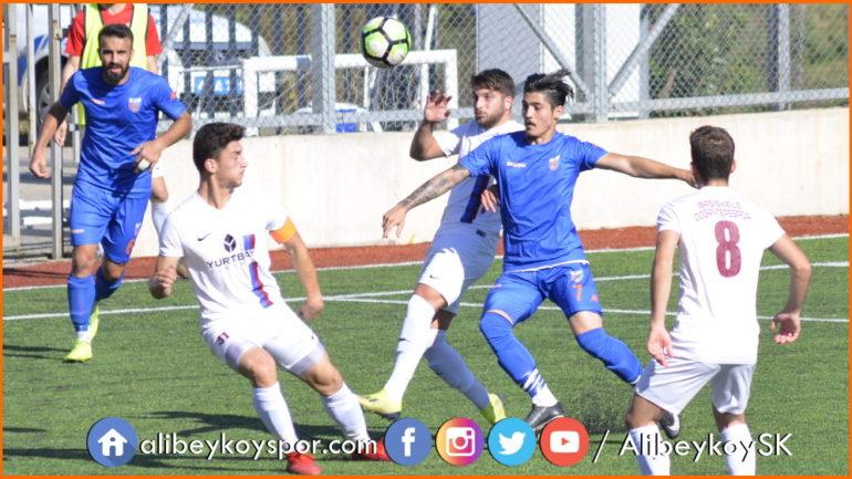 Başiskele Doğantepespor 2-1 Alibeyköyspor