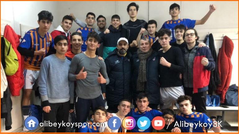 Alibeyköyspor 1-0 Çeliktepespor